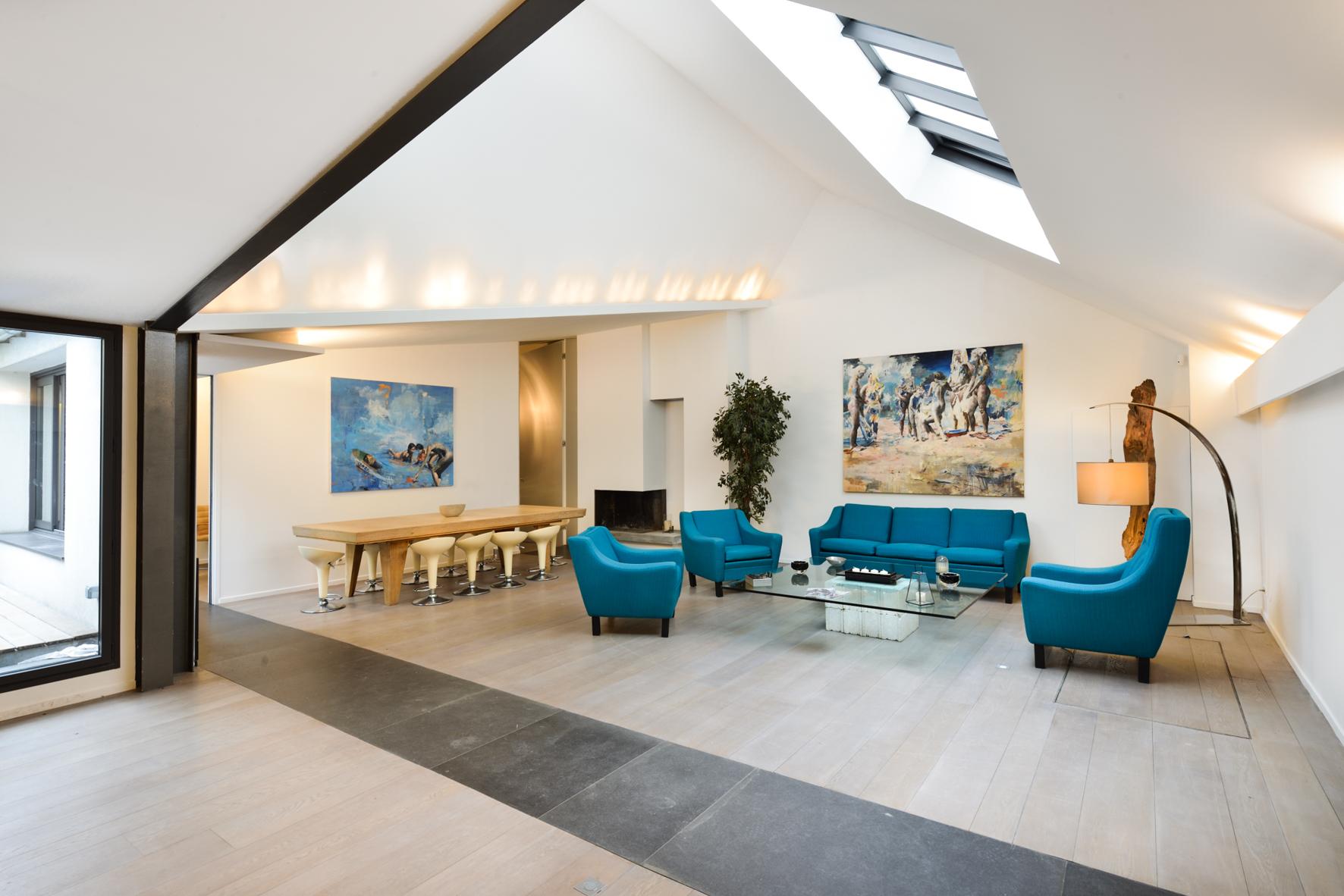 Paris v nement la maison d 39 architecte for Maison architecte design